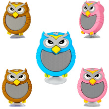 Owl Bluetooth speaker creative portable outdoor mobile phone flat panel support computer Mini subwoofer sound