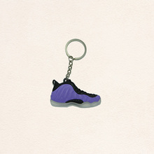 Cute Foamposites Key Chain, Sneaker Keychain Key Ring Key Holder Souvenirs, Llaveros Mujer for Woman and Girl Gifts(China)