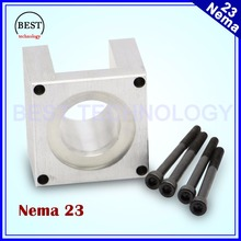 Free Shipping ! NEMA23 Stepper Motor Accessories mounts Bracket Support Shelf nema 23 Stepping  Motor Mounting Holder