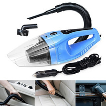 Portable Handheld Mini Super Suction Wet And Dry Dual Use Vaccum Cleaner For Car Auto Clean 5M 120W 12V Car Vacuum Cleaner