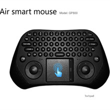 Measy GP800 2.4GHz Wireless Gaming Keyboard Smart Air Mouse Tochpad Remote Control for Android TV Box / Laptop / Tablet PC Gamer
