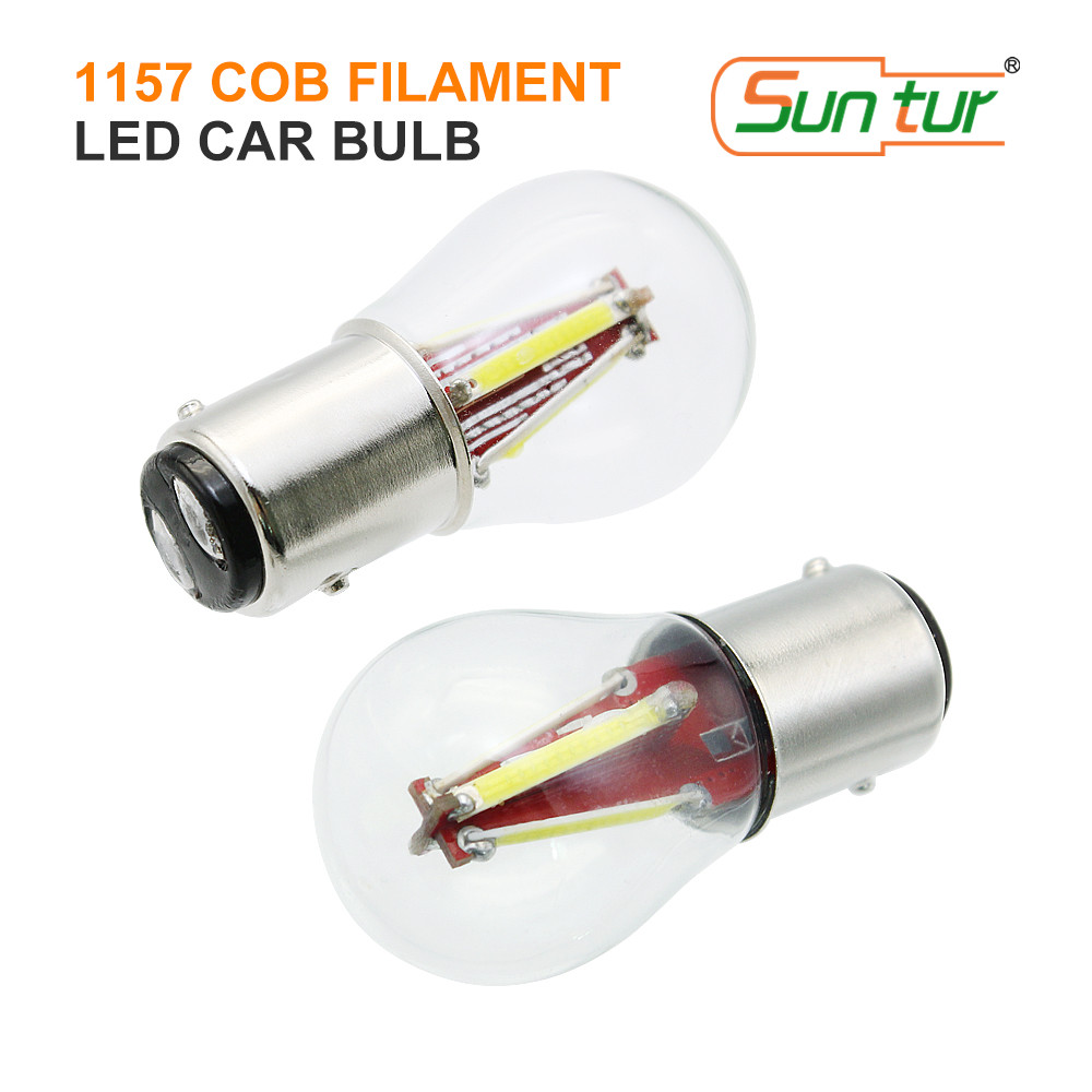 Four Replacement Rear Stop Tail Brake Bulb 12V P21//5W Mot Requirement Long Life