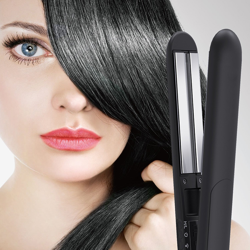 Steam Hair Straightener Flat Iron Professional hair corrugation Fast Hair Curlers Hair iron Straightening PTC heating<br>