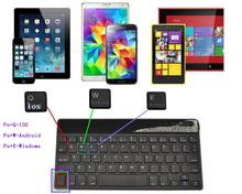 Russian Bluetooth Keyboard for All Windows Android iOS PC Tablet ASUS VivoTab Note 8 Microsoft Surface HP Stream Dell Venue(China)