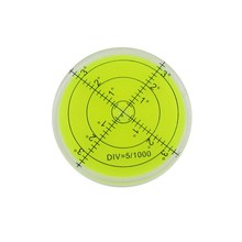 HACCURY 60*12mm Circular Bubble Level Spirit level Round Bubble level Universal Protractor(China)