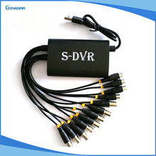 8ch usb audio/video capture cctv dvr card HD D1 p2p(China)