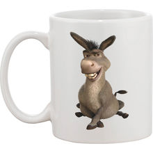 personalised DONKEY FROM SHREK mugs milk beer mugs cup travel beer cup porcelain coffee mug tea cups home decal