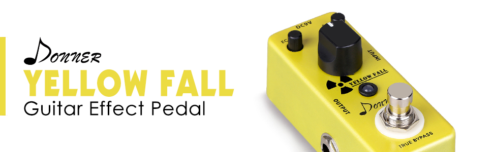 Donner - Yellow Fall - Guitar Effect Pedal