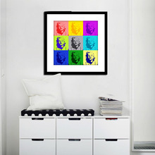 Hot modern Marilyn Monroe Canvas Art Home Decorative  Prints any size customizable print Painting on the wall for living room