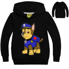 Hot Fashion Boys Girls Patrol Hoodies Children's Cartoon Canine Dog Puppy Print Sweatshirts Kids Long Sleeve Costume 3-13Y