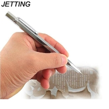 JETTING 1PCS Hot Selling New Tungsten Carbide Tip Scriber Etching Pen Carve Jewelry Engraver Metal Tool(China)