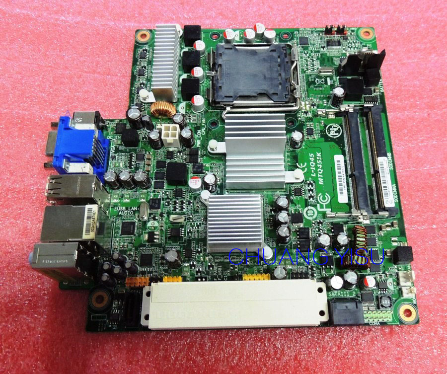 Free shipping CHUANGYISU for original M58 M58p motherboard,L-IQ45,MTQ45IK,64Y9772,64Y3057,s775,DDR3,work perfect
