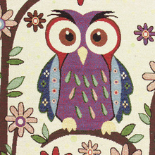 50cm*50cm Owl Design Polyester Cotton Fabric For Patchwork Cloth Sewing Tilda Jacquard Fabrics Tissue Home Textile Telas Tecido