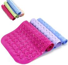 New Arrival PVC Shower Bathroom Floor Mat Anti Slip Bathroom and Toilet Carpet and Rug(China)