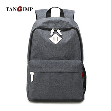 TANGIMP Luggage&Bags Women Men Canvas Backpacks Schoolbags for Girls Boys Teenagers Casual Travel Laptop Bags Rucksack mochila(China)