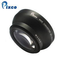 Buy Pixco 52mm 0.45X Wide Angle Lens Macro Canon Nikon Pentax Sony Panasonic, Black for $24.89 in AliExpress store