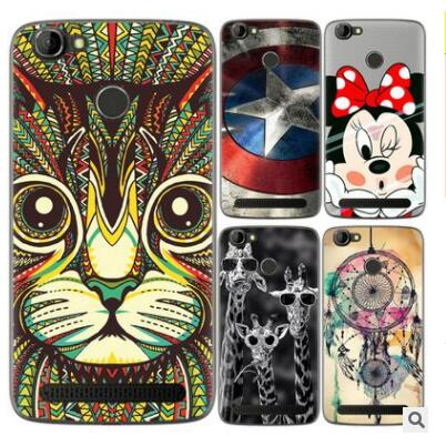 Homtom HT50 Case 0.6MM TPU Silicon Soft Luxury Pattern Plainting Slim Art Design Phone Case Homtom HT50 5.5inch
