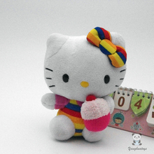 Toys for children Cake Hello Kitty doll plush baby gifts one piece(China)