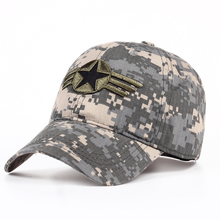 TUNICA 2017New Men's Nylon Cap Camouflage Fashion Baseball Hat Women men cap with button button baseball cap adult patriotic hat(China)