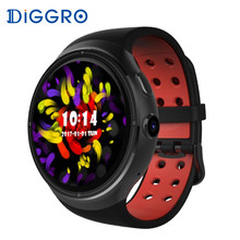 DIGGRO DI06 1 ГБ/16 ГБ Smartwatch Android 5,1 MTK6580 gps 3g WI-FI Bluetooth 4,0 Смарт-часы Поддержка SIM карты для IOS и Android(China)