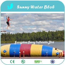 Happy Fun Inflatable Jumping Water Blob With Nice Price For Fast Delivery 5x2M,Inflatable bouncing Bag For Sale