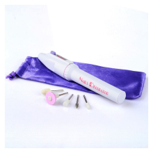 5 in1 Nail Files Salon Shaper Nail Art Care Tips Pen Electric Manicure Polisher Kit for Nail Gel Professional Tools