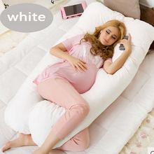 130*80CM U shape Maternity pillows pregnancy Comfortable Body pregnancy pillow Women pregnant Side Sleepers cushion