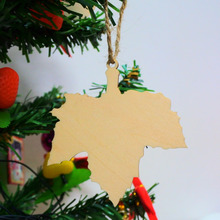 60pcs Wish Card Maple Leaf Wood Tags Tree Decoration Ornaments Rustic Tags Wedding Valentine Party Nature Color Gift Home Decor