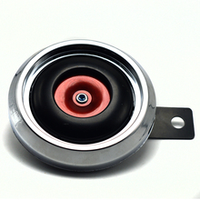 2014 New Motorcycle horn 12V  2A horn for Motorcycle The diameter of 8cm red  for HONDA suzuki Motorcycle general horn
