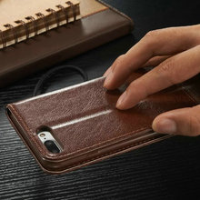 For Apple iPhone 7 Case Leather Wallet Silicone Cover iPhone 7 Flip Case Luxury Cell Phone Case For iPhone 7 Plus