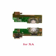 New OEM For Sony Xperia XA F3115 F3112 F3116 USB Charge Port Connector Charging Board Vibrator Motor Mic Flex Cable