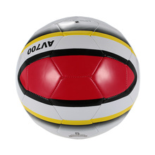 Super-K Football Soccer Ball Size 5 PVC Football Training Balls Machine Sewn PVC Soccer Kids  Football Street Soccer Ball