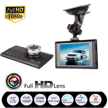 "3"" HD 1080P Auto Cars Vehicle DVR CCTV Dash Camera Video G-Sensor Dashcam"