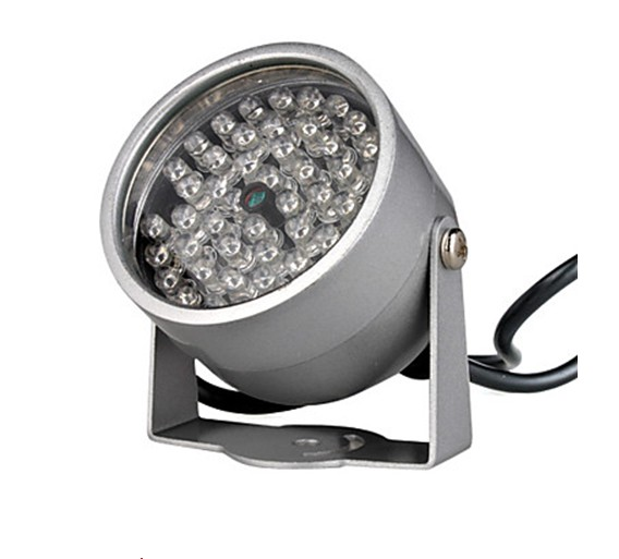 850NM Infrared Illumination Light with 48 IR LEDs for Night Vision CCTV Camera DC 12V<br><br>Aliexpress