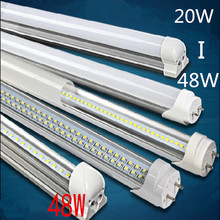 T8 lamp 4ft 1200mm G13 energy saving for existing fluorescent fixture 120leds SMD2835 24W 4FT LED TUBE 4pcs/lot(China)