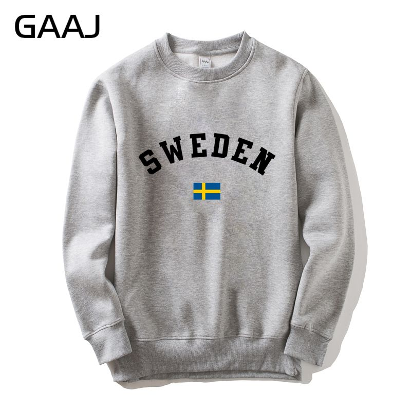 Sweden Flag Men Women Sweatshirt Jacket Hoodie Scandinavian nation Sweatshirt Tracksuit High Quality Man Homme Skate Casual