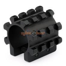 NEW Tactical Tri Rail Mount For Mag Tubes Fits 12 Gauge Mossberg 500 590 835 Shotgun Free Shipping(China)