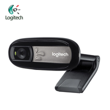 Logitech C170 Webcam with Microphone Plug-and-play Setup HD Computer Camera USB 2.0 for PC/ Laptop TV/Laptop/Desktop Original