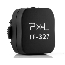 Flash Hot Shoe TF-327 TF327 327 to PC Sync socket Converter for nikon D7000 D90 PF097 digital dslr