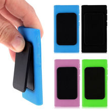 Candy Color Soft TPU Silicone Case Cover For iPod Nano 7 7G 7th Generation With Stand Fuction