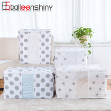 BalleenShiny Clothes Storage Bag Quilt Organizer Wardrobe Closet  Holder Underwear Blanket Storage Pouch