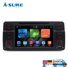 A-Sure Android 6.0 Octa 8 Core for BMW E46 M3 325 3er 318 320 Rover75 MG Car DVD GPS navi WIFI 3G BT Radio RDS DAB+ 2GB RAM 32GB(Hong Kong)