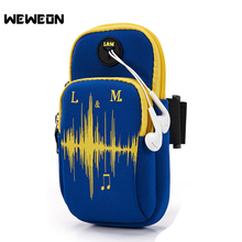Best Seller Outdoor Sport Running Arm Bag Wrist Pouch Exercise Jogging Gym Bag Adjustable Waterproof Phone Arm Bag