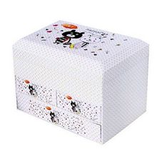 Versatile Three Drawers Storage Box Medicine Chest Cosmetic Case Jewelry Box Big(China)