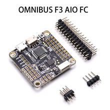 New OMNIBUS F3 AIO Flight Controller Built-in OSD STM32 F303 MCU SD Slot for DIY FPV RC Drone