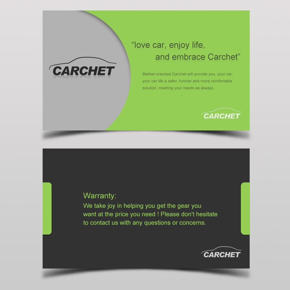carchet card