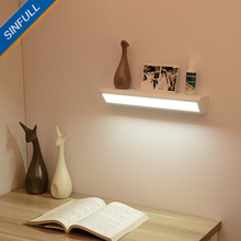 Led Mirror Front Light Modern Simple Wall Lamp Eye Protection Headlight Desk Wall Sconce Corridor Aisle Indoor Home Hotel Lights