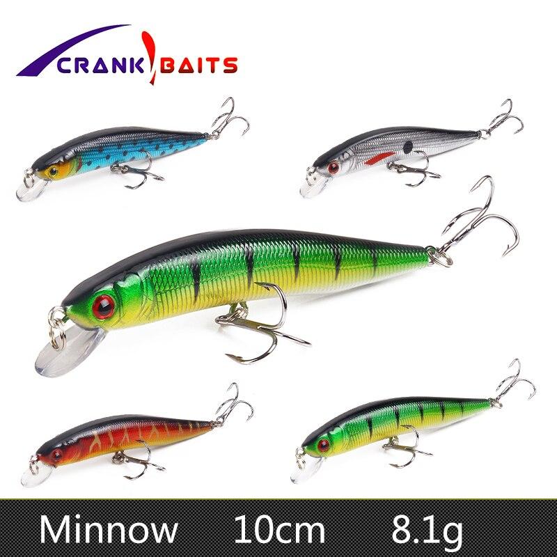 New Lot 10p Crank Bait Crankbait Unpainted Fishing Lure 12.73g//10.5cm Wholesale