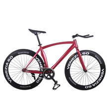 Buy Fixed Gear Bike Fixie Bike Aluminum Frame 52cm DIY 700C Muscular Frame Bicicleta Bike Aluminum Fixie Bicycle Fixed Gear bike for $180.60 in AliExpress store