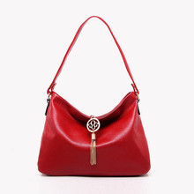 BARHEE Popular Fashion Women Leather handbags Top Handle Shoulder Women Messenger Bags Hobo Office Ladies Tote Bag Red Black